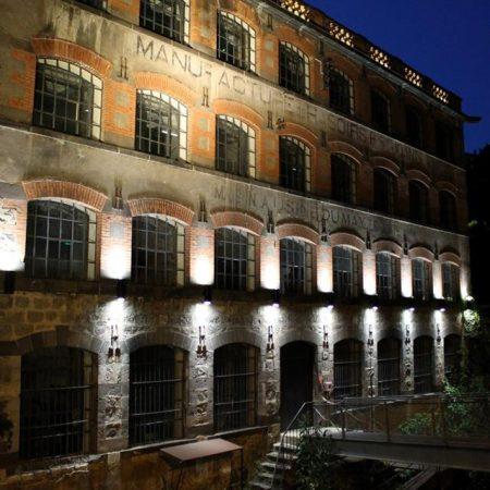 La vallée des usines en lumière - Photo Office de Tourisme Thiers Communauté